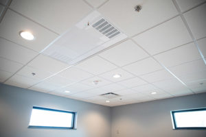 UV Angel ceiling unit