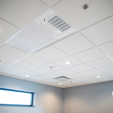 UV Angel ceiling unit